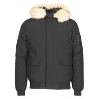 Ruhák Férfi Parka kabátok Schott KEYBURN Fekete