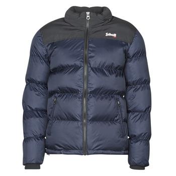 Ruhák Steppelt kabátok Schott UTAH Tengerész / Fekete