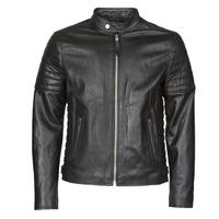 Ruhák Férfi Bőrkabátok / műbőr kabátok Schott LCJOE Fekete