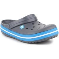 Cipők Férfi Papucsok Crocs Crocband  11016-07W szary
