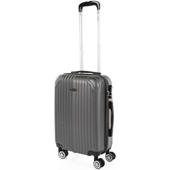 Táskák Keményfedeles bőröndök Itaca Sevron között Antracit