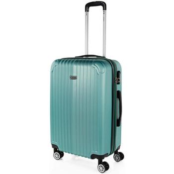 Táskák Keményfedeles bőröndök Itaca Sevron között Acquamarine között