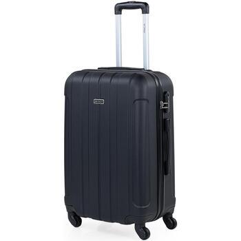 Táskák Keményfedeles bőröndök Itaca Havel Fekete