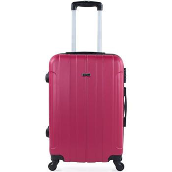 Táskák Keményfedeles bőröndök Itaca Havel Eper