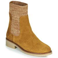 Cipők Női Csizmák Bensimon BOOTS CHAUSSETTE Barna