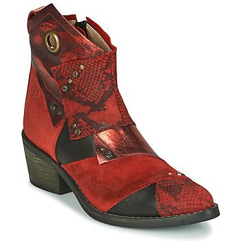 Cipők Női Bokacsizmák Casta DEMA Piros