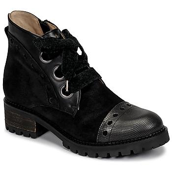 Cipők Női Csizmák Casta MANDA Fekete