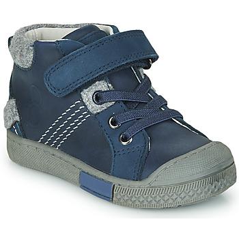 Cipők Fiú Magas szárú edzőcipők Mod'8 HERY Tengerész