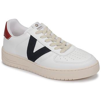Cipők Rövid szárú edzőcipők Victoria SIEMPRE PIEL VEG Fehér / Kék / Piros