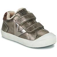 Cipők Lány Rövid szárú edzőcipők Victoria HUELLAS  TIRAS Ezüst