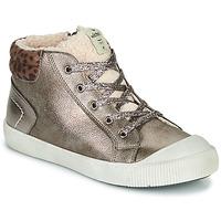 Cipők Lány Magas szárú edzőcipők Victoria HUELLAS METAL Ezüst