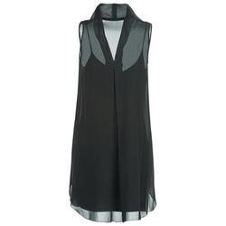 material Női Rövid ruhák Naf Naf E-LALY Fekete