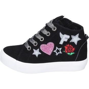 Cipők Lány Magas szárú edzőcipők Fiorucci BM420 Fekete