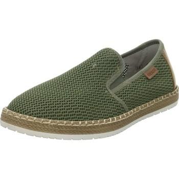 Cipők Férfi Belebújós cipők Rieker B527654 Zielone