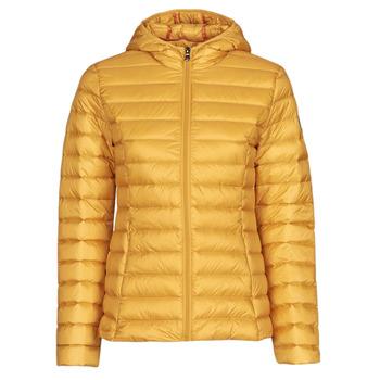 Ruhák Női Steppelt kabátok JOTT CLOE Citromsárga