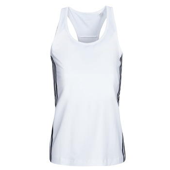 Ruhák Női Trikók / Ujjatlan pólók adidas Performance W D2M 3S TANK Fehér