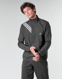Ruhák Férfi Pulóverek adidas Performance OWN THE RUN JKT Fekete