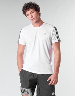 Ruhák Férfi Rövid ujjú pólók adidas Performance RUN IT TEE 3S M Fehér