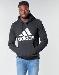 Ruhák Férfi Pulóverek adidas Performance MH BOS PO FL Fekete
