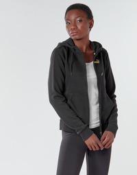 Ruhák Női Melegítő kabátok Puma METALLIC FZ HOODY TR Fekete  / Arany