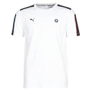 Ruhák Férfi Rövid ujjú pólók Puma BMW MMS MS T7 TEE Fehér