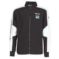 Ruhák Férfi Melegítő kabátok Puma BMW MMS WVN JACKET F Fekete  / Szürke / Fehér