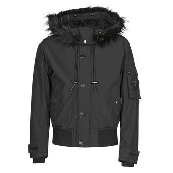 Ruhák Férfi Parka kabátok Diesel W-JAMES Fekete