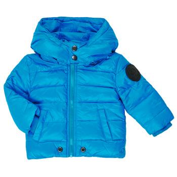 Ruhák Fiú Steppelt kabátok Diesel JSMITHYAWH Kék