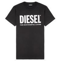 Ruhák Gyerek Rövid ujjú pólók Diesel TJUSTLOGO Fekete