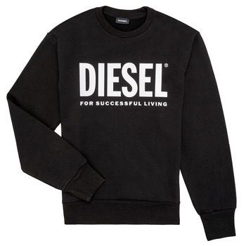 Ruhák Fiú Pulóverek Diesel SCREWDIVISION LOGO Fekete
