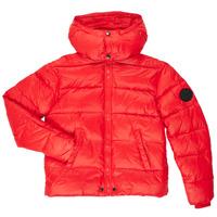 Ruhák Fiú Steppelt kabátok Diesel JSMITHYAWH Piros