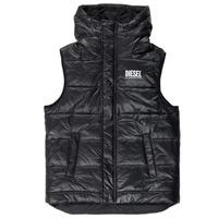 Ruhák Fiú Steppelt kabátok Diesel JSUNNY Fekete