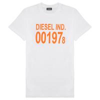 Ruhák Gyerek Rövid ujjú pólók Diesel TDIEGO1978 Fehér