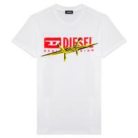 Ruhák Fiú Rövid ujjú pólók Diesel TDIEGOBX2 Fehér