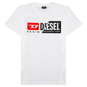 Ruhák Gyerek Rövid ujjú pólók Diesel TDIEGOCUTY Fehér