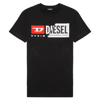 Ruhák Gyerek Rövid ujjú pólók Diesel TDIEGOCUTY Fekete