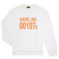 Ruhák Gyerek Pulóverek Diesel SGIRKJ3 Fehér