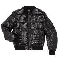 Ruhák Gyerek Steppelt kabátok Diesel JONY Fekete