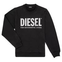 Ruhák Lány Pulóverek Diesel SANGWX Fekete