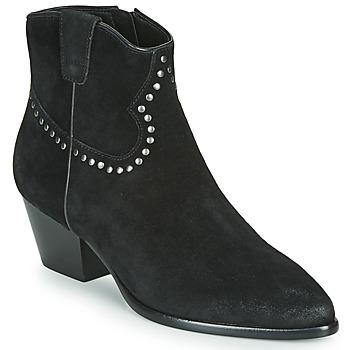 Cipők Női Bokacsizmák Ash HOUSTON BIS Fekete