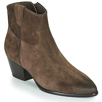 Cipők Női Bokacsizmák Ash HOUSTON Barna