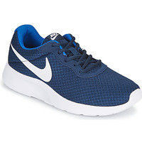 Cipők Férfi Rövid szárú edzőcipők Nike TANJUN Kék / Fehér