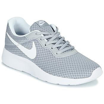 Cipők Női Rövid szárú edzőcipők Nike TANJUN Szürke / Fehér