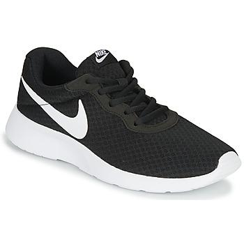 Cipők Női Rövid szárú edzőcipők Nike TANJUN Fekete  / Fehér