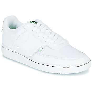 Cipők Női Rövid szárú edzőcipők Nike COURT VISION LOW PREM Fehér