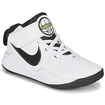 Cipők Fiú Kosárlabda Nike TEAM HUSTLE D 9 PS Fehér / Fekete