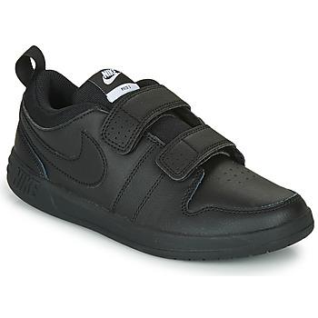 Cipők Gyerek Rövid szárú edzőcipők Nike PICO 5 PS Fekete