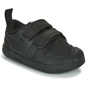 Cipők Gyerek Rövid szárú edzőcipők Nike PICO 5 TD Fekete