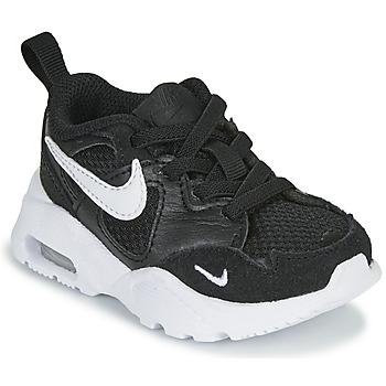 Cipők Gyerek Rövid szárú edzőcipők Nike AIR MAX FUSION TD Fekete  / Fehér
