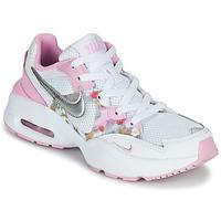 Cipők Lány Rövid szárú edzőcipők Nike AIR MAX FUSION SE GS Fehér / Rózsaszín